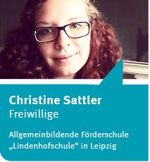 Anklicken für den O-Ton von Christine Sattler